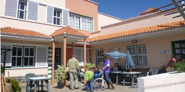 Centro Asistencial: Sor Josefa Argote. Foto: Luisa Castro