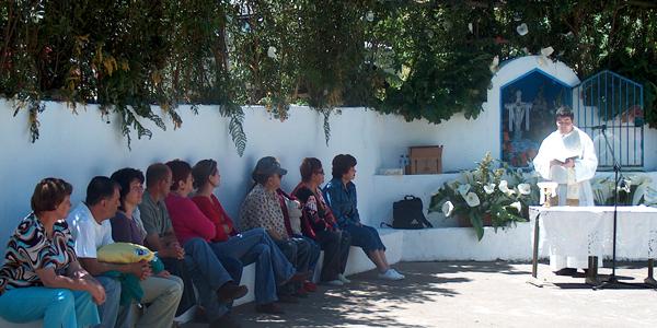 Cruz de Gallo, Villa de Garafia (Foto: Luisa Castro)