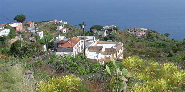 Vista desde el Albergue del Tablado Foto: archivo ADER La Palma