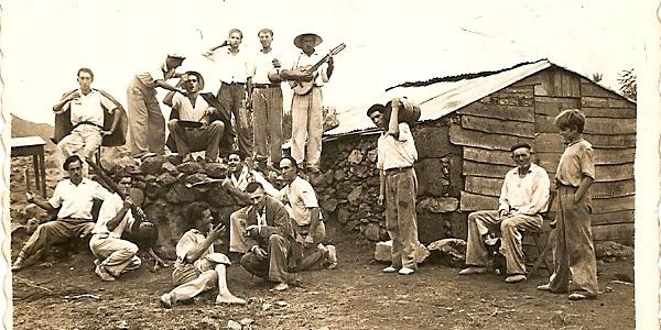 Reunión de Garafianos. Foto: César Díaz