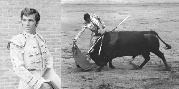 José Mata. Torero. Fotos: Archivo Ayto. de Garafía