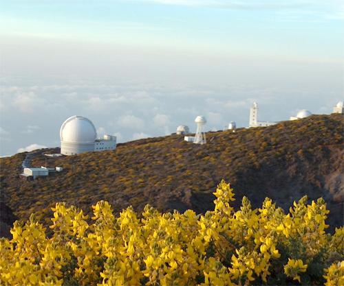 """Vista en Primavera """"Centro Astrofísico del Roque de los Muchachos"""""""