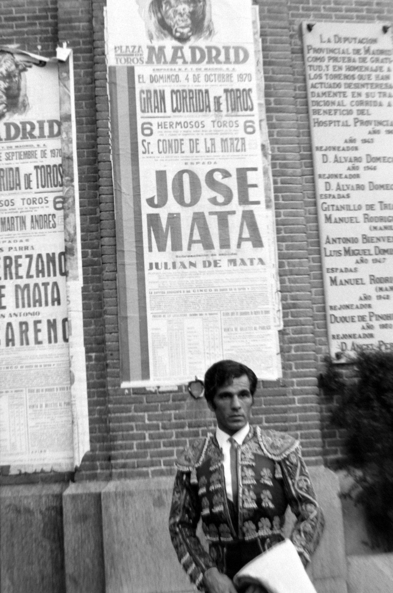José Mata, Plaza de Toros de Mad