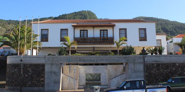 Ayuntamiento de la Villa de Garafia (Foto: Rafael)