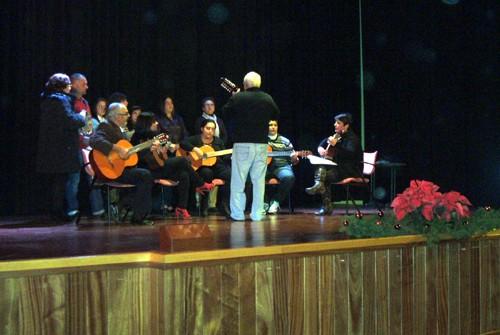 Celebración del concierto de Navidad de Cajacanarias 2011