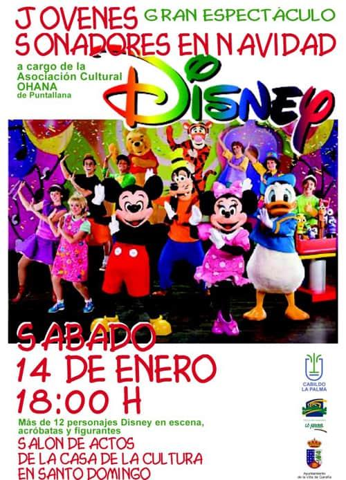 Jóvenes Soñadores en Navidad, Gran espectáculo el 14 Enero 2012