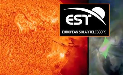 El Telescopio Solar Europeo (EST), que se ubicará en Canarias, pendiente de la Comisión Europea