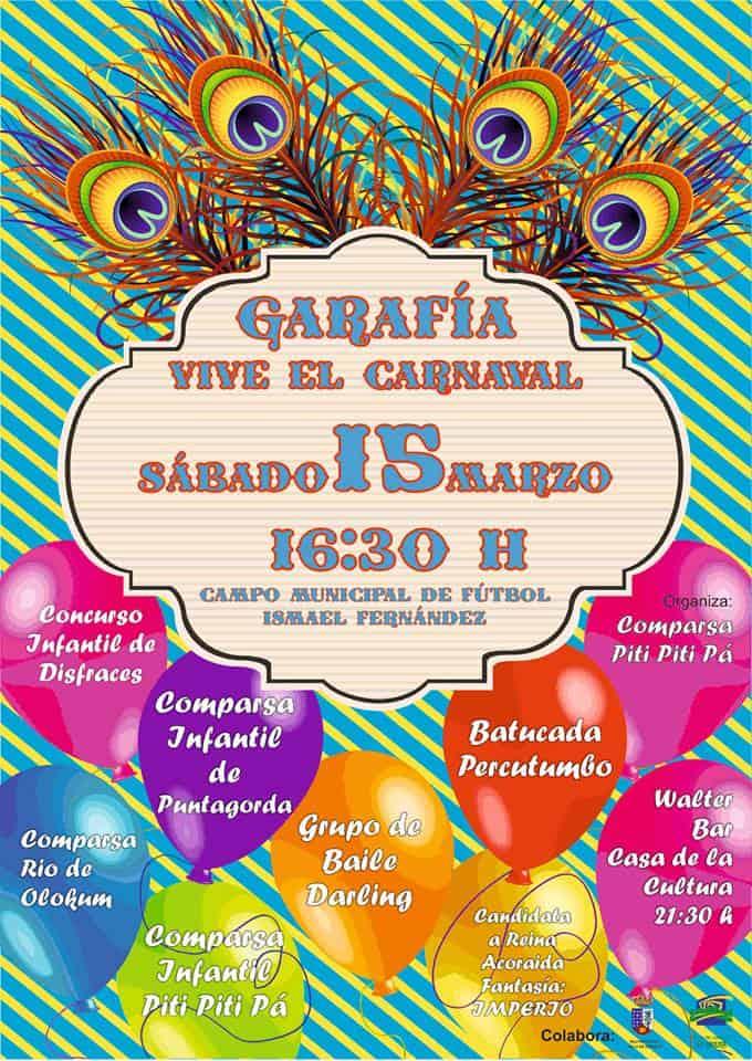 CARNAVAL EN GARAFÍA: sábado 15 de marzo