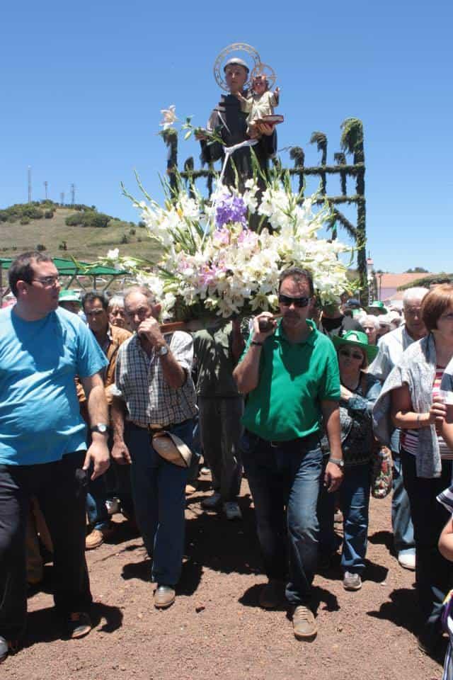 La Fiesta de San Antonio del Monte sigue apostando por la recuperación de las tradiciones