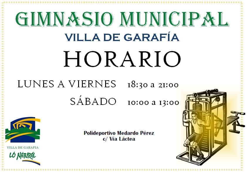 Apertura del Gimnasio Municipal de Garafía