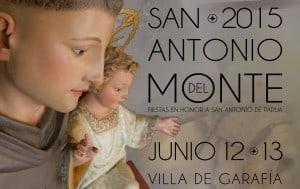 La Fiesta de San Antonio del Monte ya tiene cartel anunciador