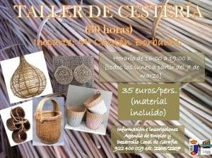 taller de cesteria
