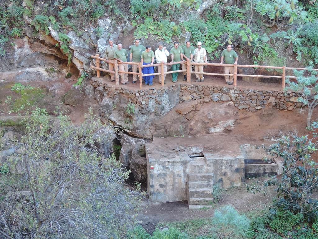 El Cabildo acondiciona y mejora el entorno de la zona arqueológica de Buracas