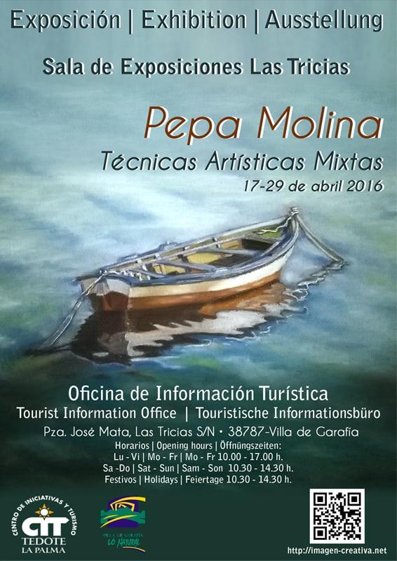 Pepa Molina. Técnicas Artísticas Mixtas