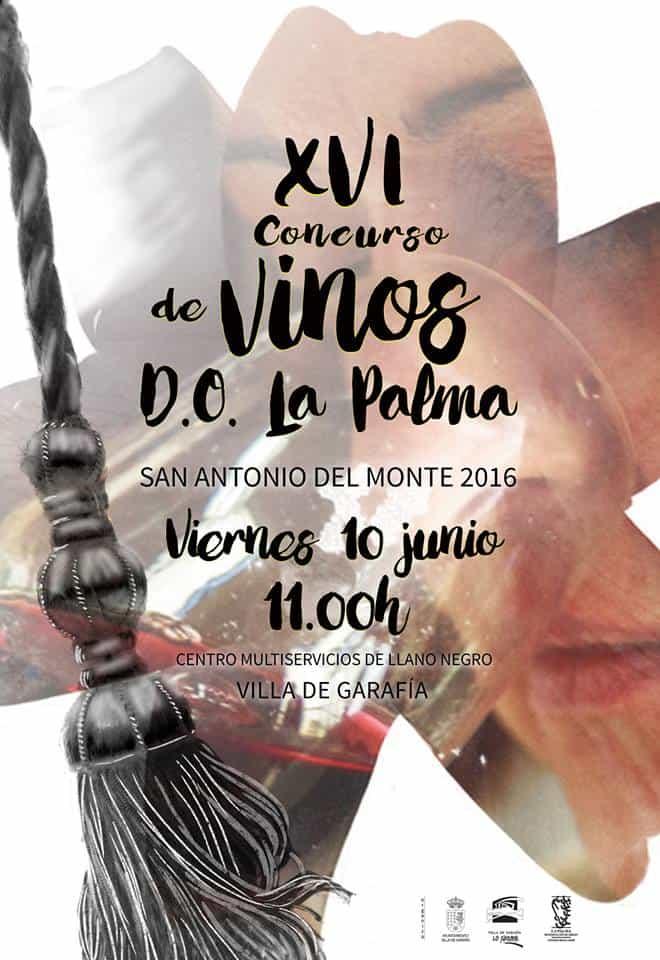XVI Concurso de Vinos D.O. La Palma – San Antonio del Monte 2016