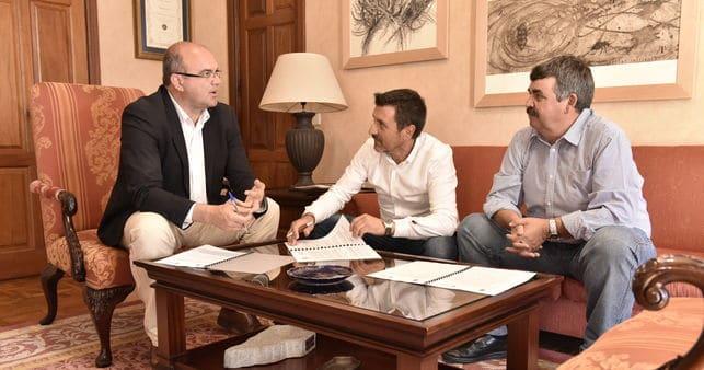 El Cabildo y Garafía firman un convenio para la gestión del área recreativa de San Antonio del Monte