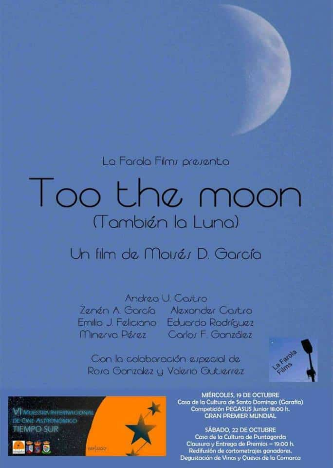 Too the moon
