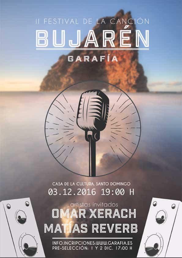 II Festival de la canción Bujarén 2016