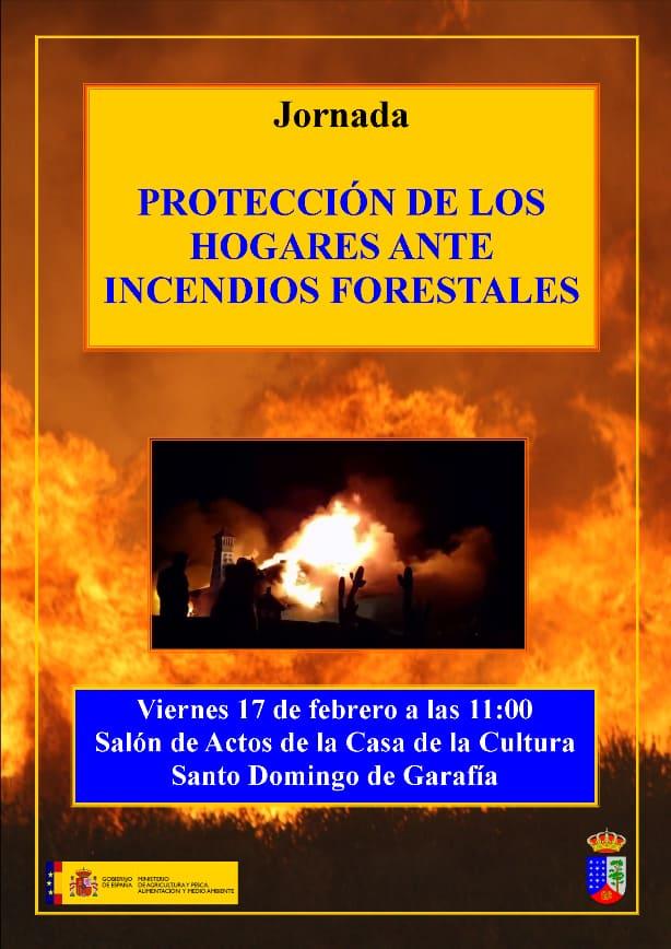 Protección de los hogares ante incendios forestales | 17 de febrero