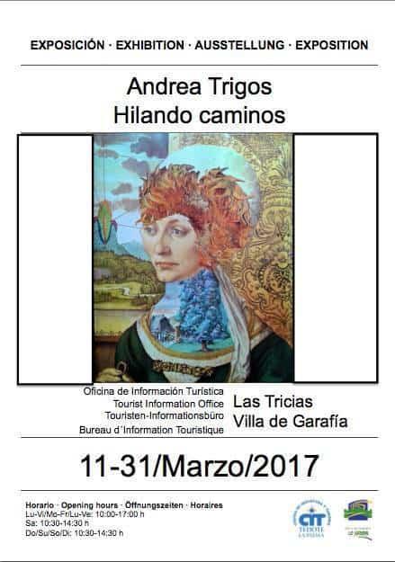 """Exposición """"Hilando caminos"""", de Andrea Trigos"""