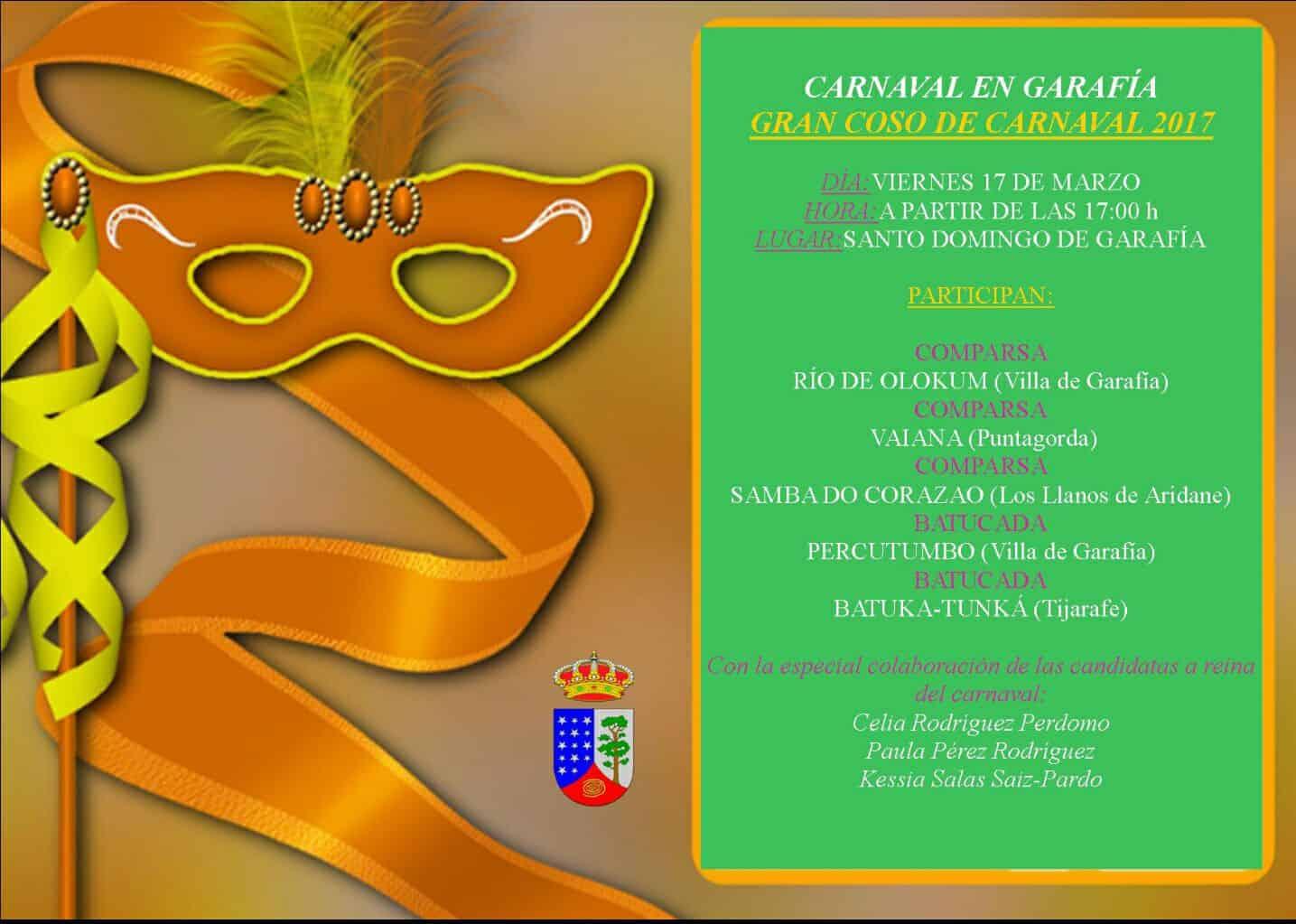 ¡Gran Coso de Carnaval en Garafía!