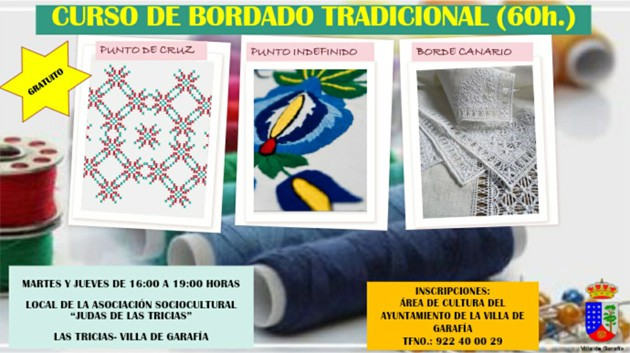 Curso de bordado tradicional