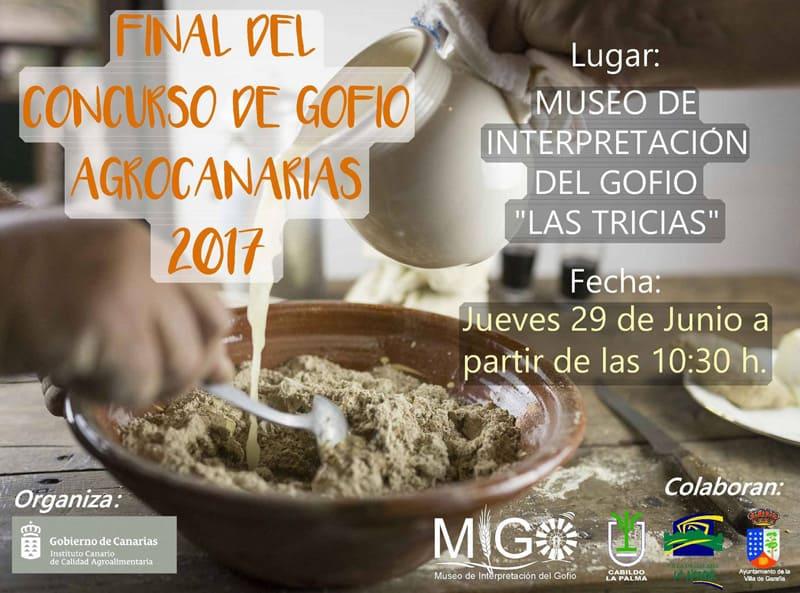 Concurso Oficial de Gofios 2017 | Agronoticias