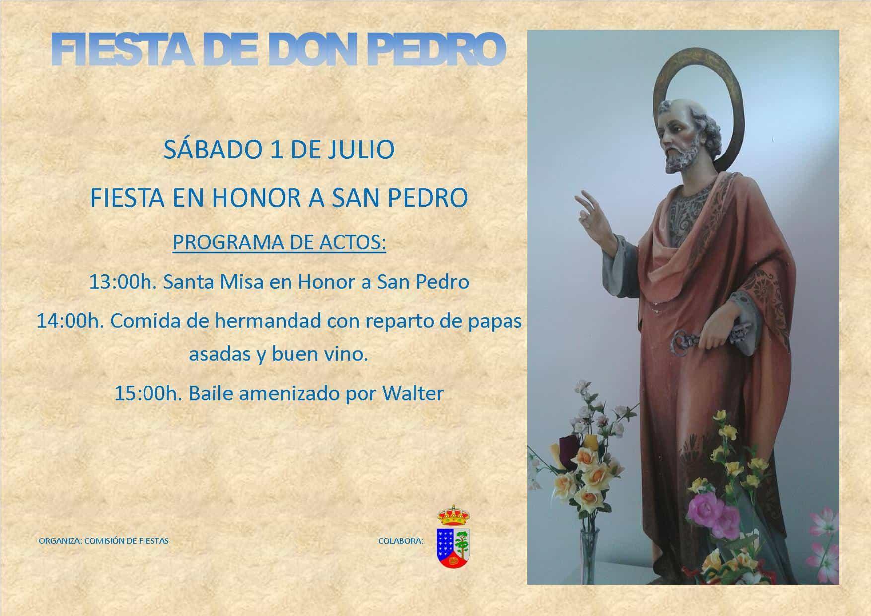 Fiestas en Honor a San Pedro