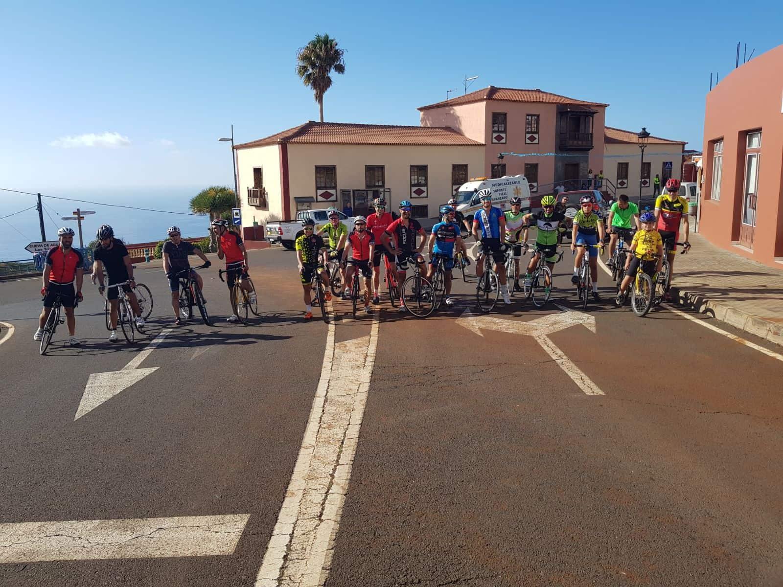 Clasificación de la XIX Subida Ciclista a Llano Negro