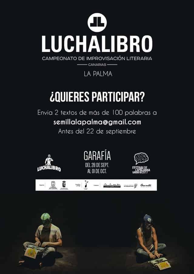 """El espectáculo de improvisación literaria """"Lucha Libro"""" del Festival de La Palabra abre el plazo de participación"""