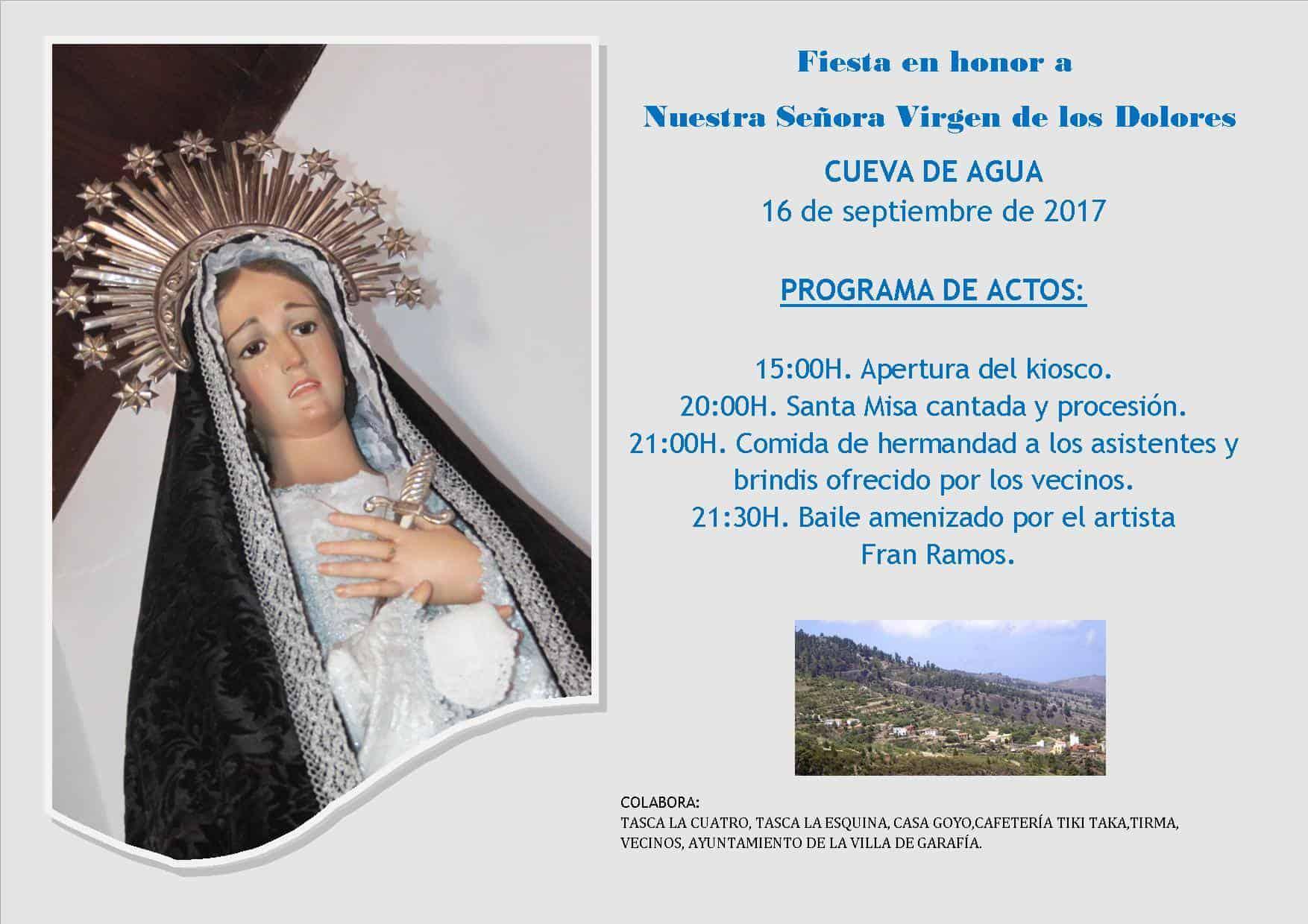 Fiesta Ntra. Sra. Virgen de los Dolores