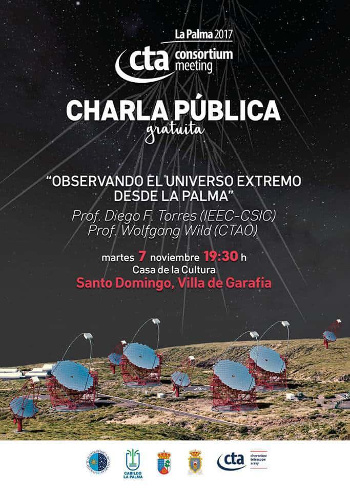 Observando el Universo extremo desde La Palma