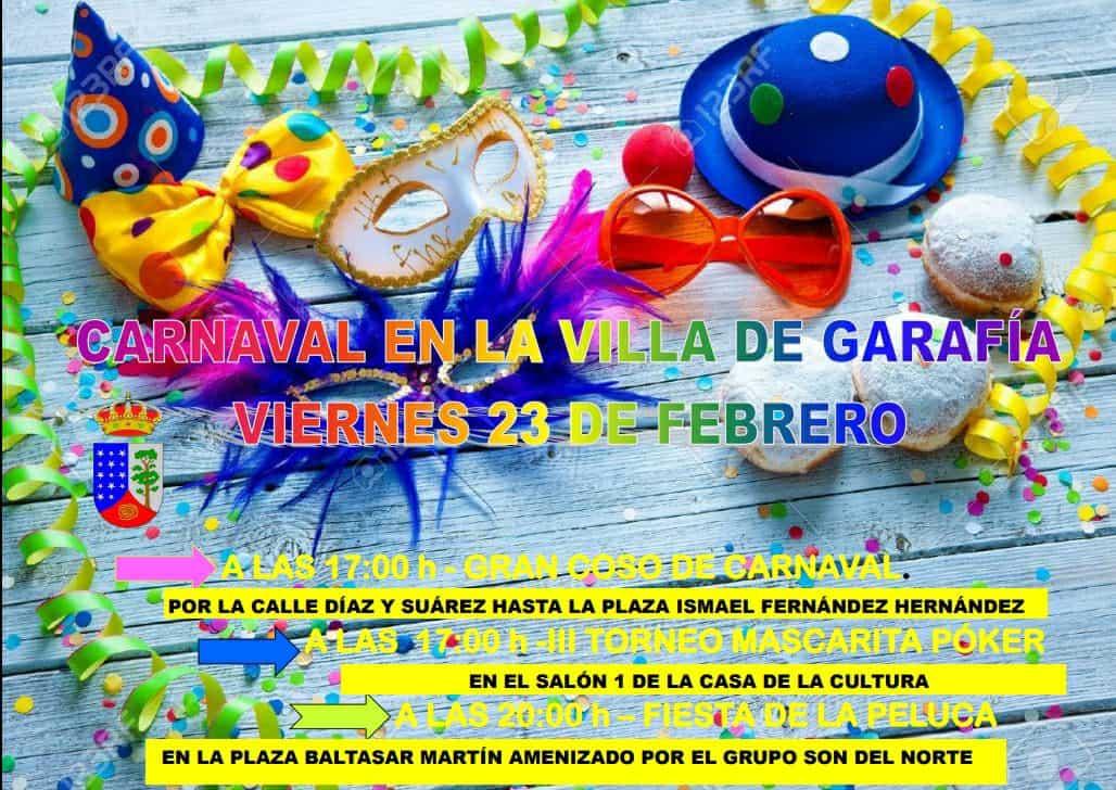 ¡Llega el carnaval a la Villa de Garafía!