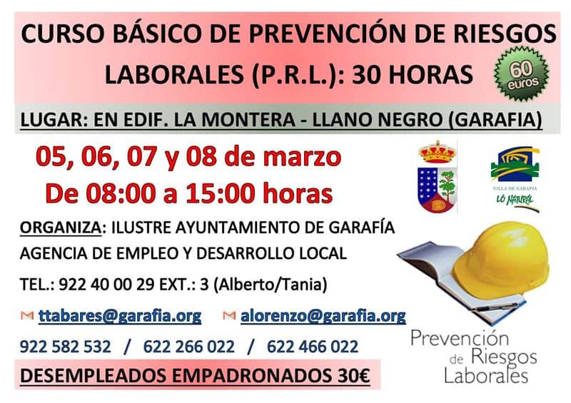 Curso Básico de Prevención de Riesgos Laborales (P.R.L.)