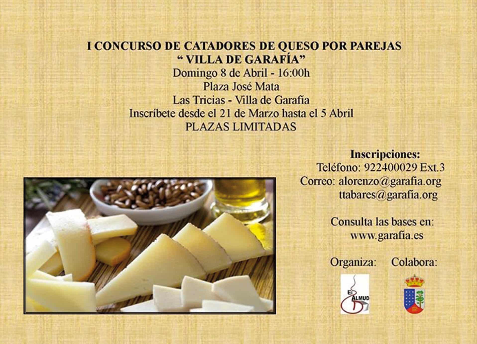 Bases concurso de I Cata de Queso por Parejas Villa de Garafía