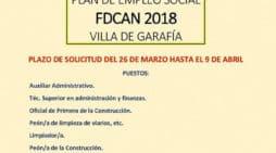 Plan de Empleo Social FDCAN 2018 Villa de Garafía