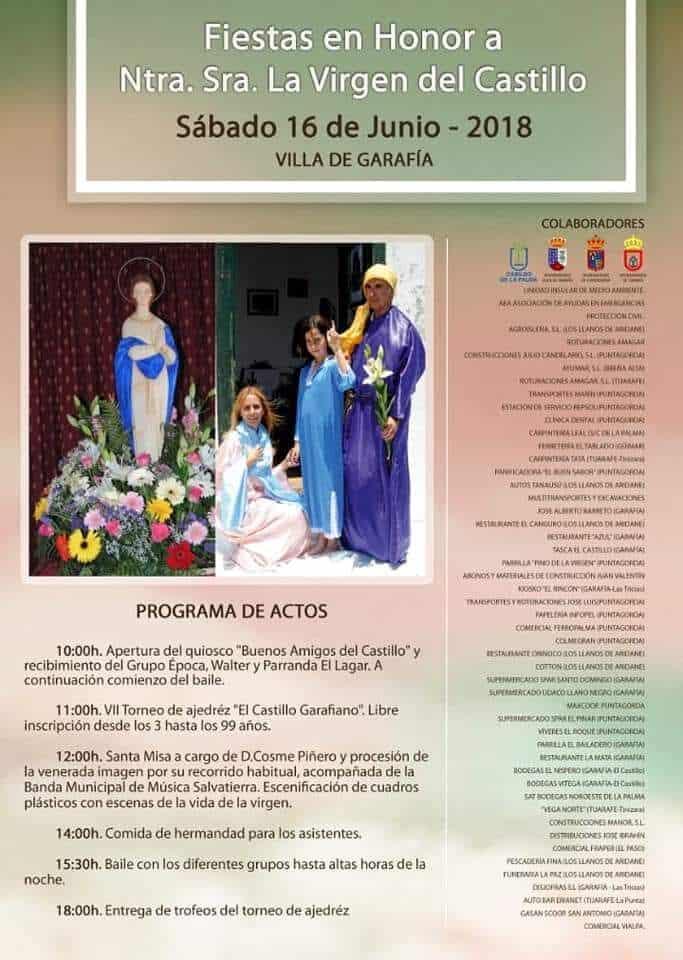 Programa Fiestas del Castillo