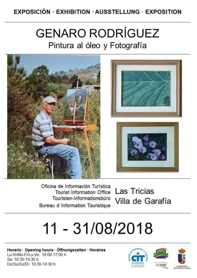 Exposición de Genaro Rodríguez