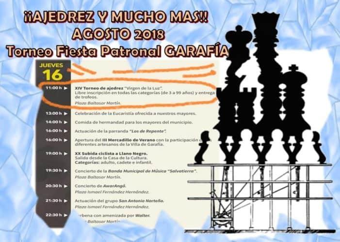 """XIV Torneo de ajedrez """"Virgen de La Luz"""""""