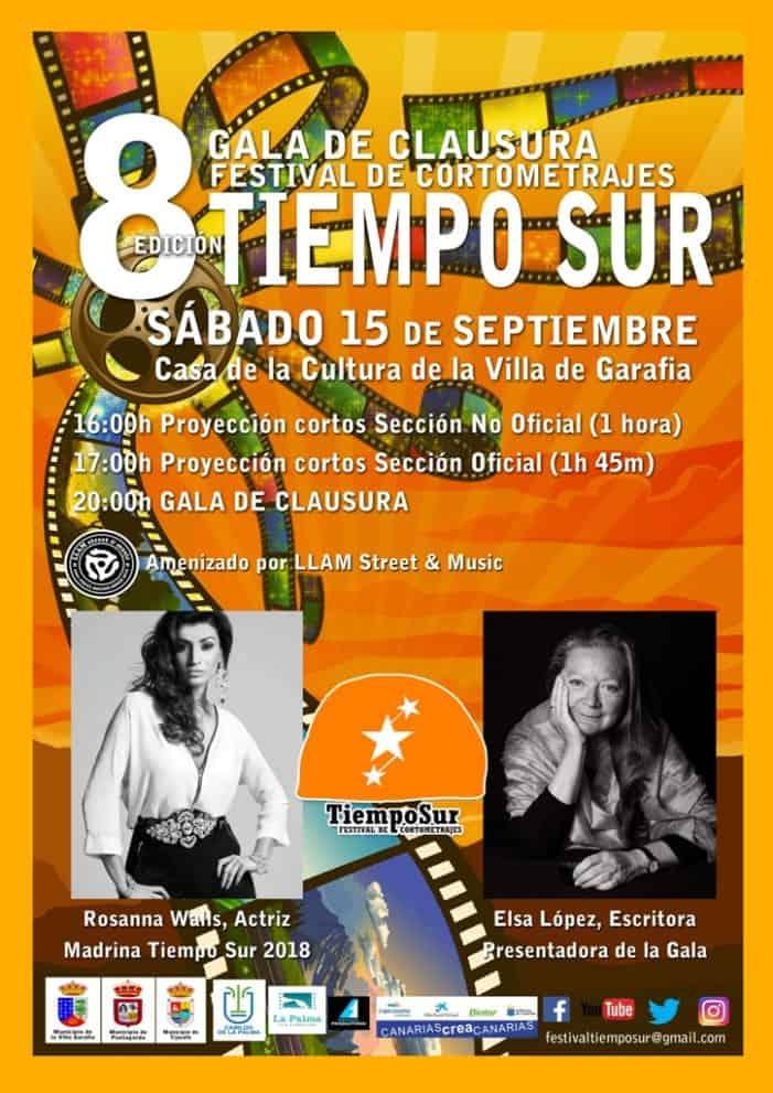 Acto de Clausura del VIII Festival de Cortometrajes Tiempo Sur
