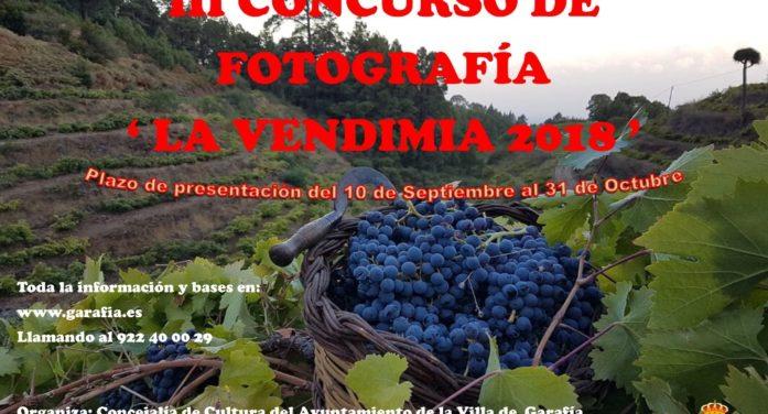 """III Concurso de fotografía """"La Vendimia"""""""