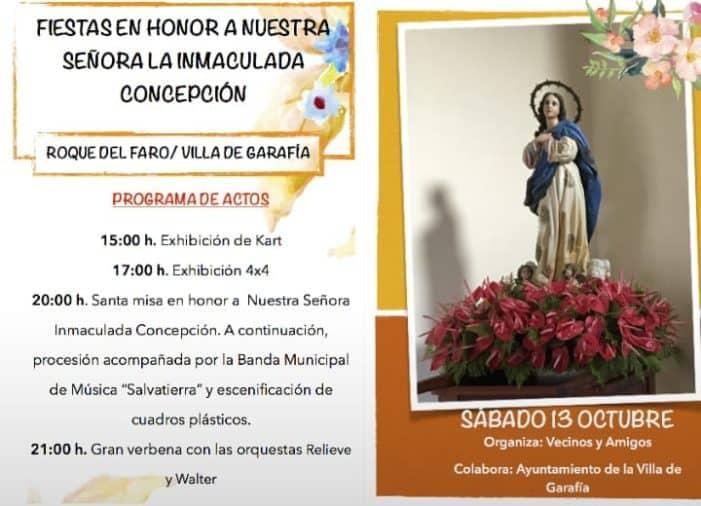 Fiestas en honor a Nuestra Señora la Inmaculada Concepción