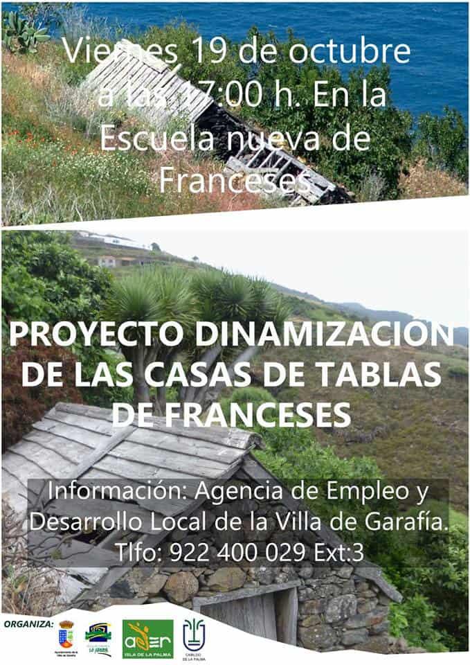 Proyecto de dinamización de Las Casa de Tablas de Franceses