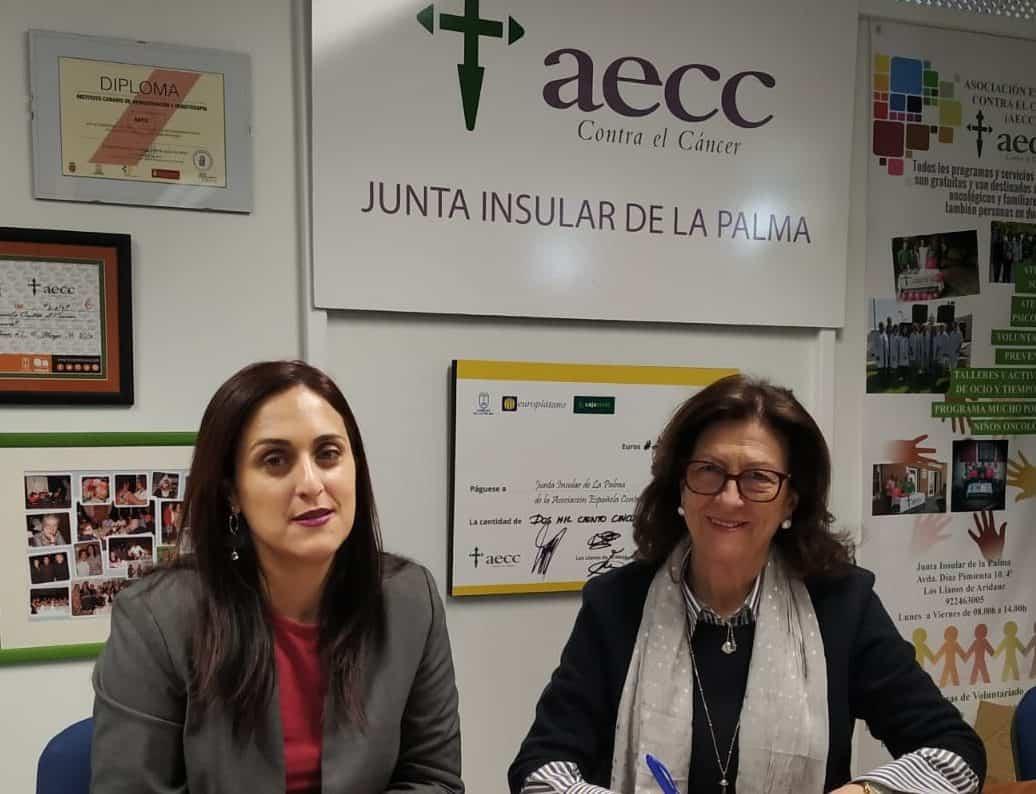 Garafía firma un convenio de colaboración con AECC