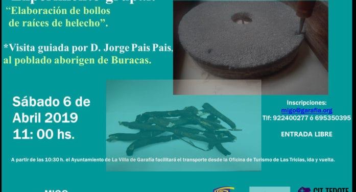 Bollos de helecho y visita guiada a Buracas