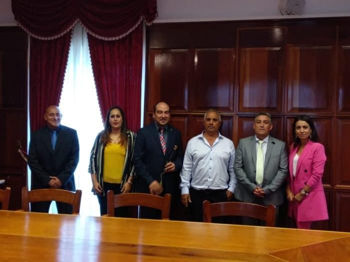 Grupo de gobierno en el Ayuntamiento de la Villa de Garafía