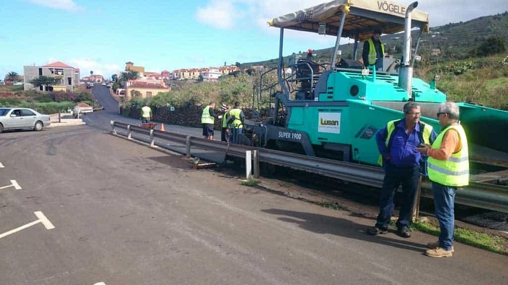 El Cabildo mejorará la carretera de Garafía entre Las Tricias y Santo Domingo
