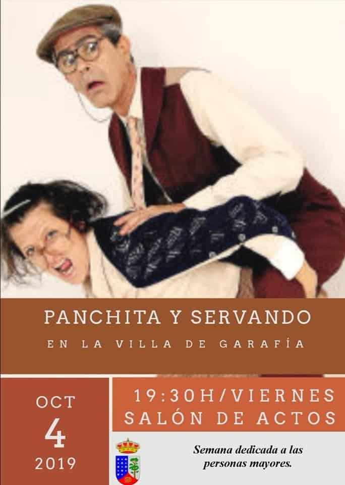 Panchita y Servando en la Villa de Garafía
