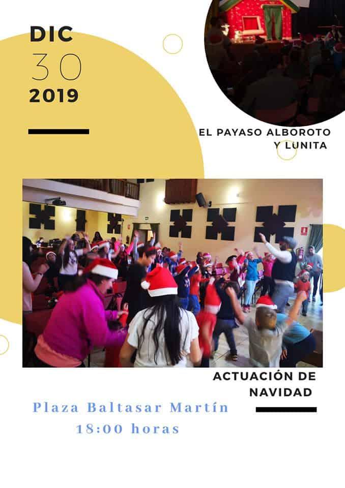 El Payaso Alboroto y Lunita