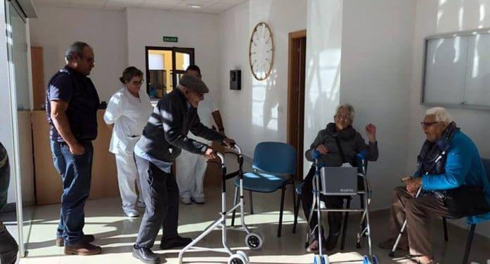 La residencia de mayores de Garafía ya es una realidad y empieza a recibir a sus primeros usuarios